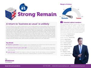 Whitehouse - EU Referendum - Strong remain