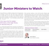 Junior Ministers to Watch v.5-02