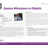 Junior Ministers to Watch v.5-05