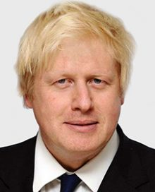 Rt Hon Boris Johnson MP: Secretary of State for Foreign and Commonwealth Affairs