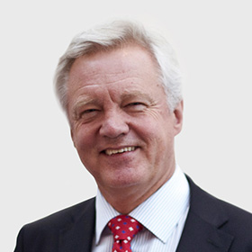 Rt Hon David Davis MP: Secretary of State for Exiting the European Union