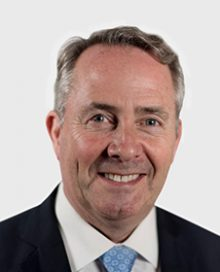 Rt Hon Dr Liam Fox MP: Secretary of State for International Trade