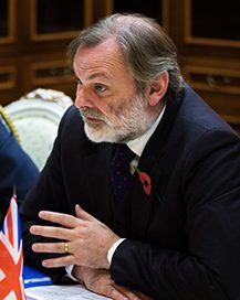 Sir Tim Barrow: UK Permanent Representative to the EU