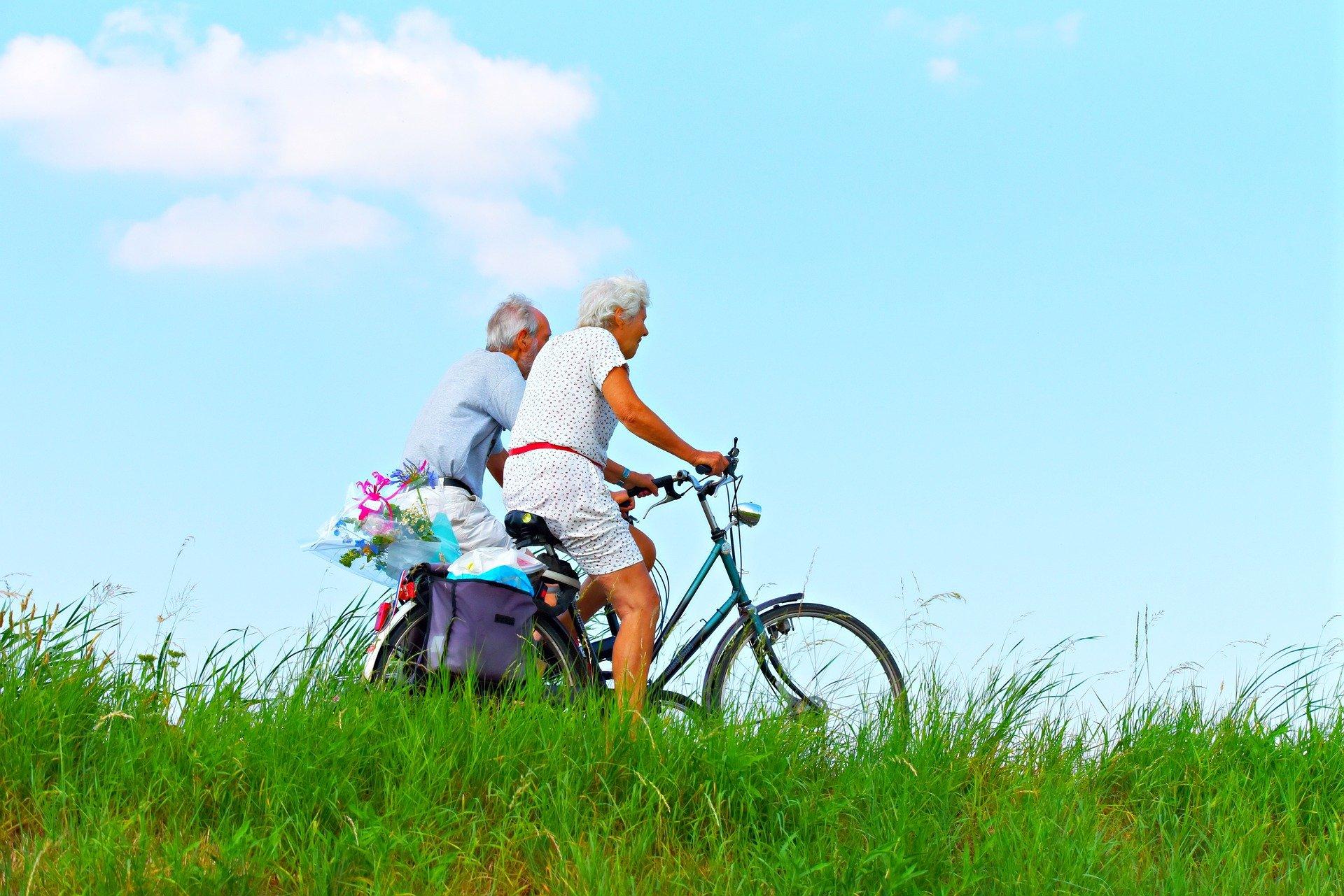 old people bikes